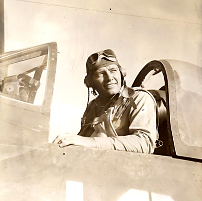 2nd Lt Donald A. Carlson, VMF-124