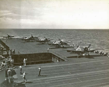 F6F Hellcats on Essex