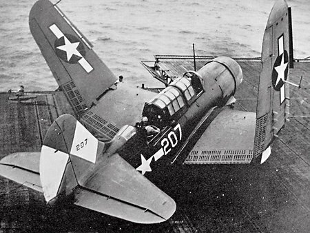 Helldiver with Folded Wings