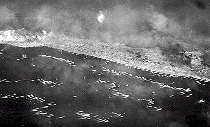 Landing on Iwo Jima