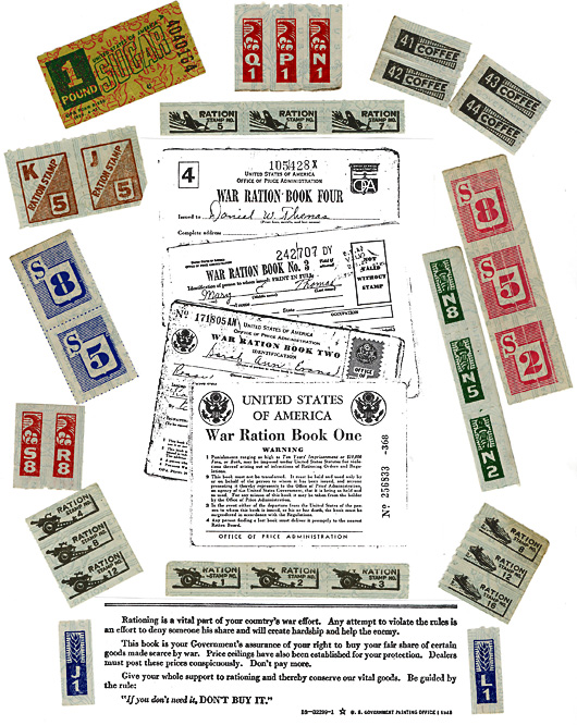 WWII Ration Coupons