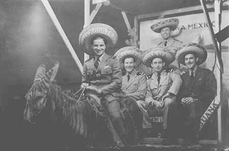 Liberty in Tijuana - 1944