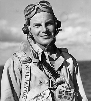 Lt Col William A. Millington, VMF-124